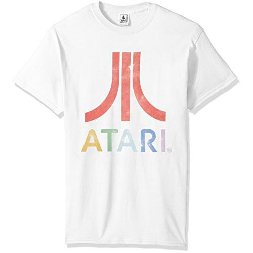 Transfer Tshirts atari-mens-classic-colorful-logo-mens-t-shirt Video Games
