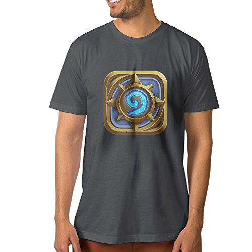 Transfer Tshirts bekey-mens-t-shirts-hearthstone-heroes-of-warcraft-leisure-deepheather Video Games