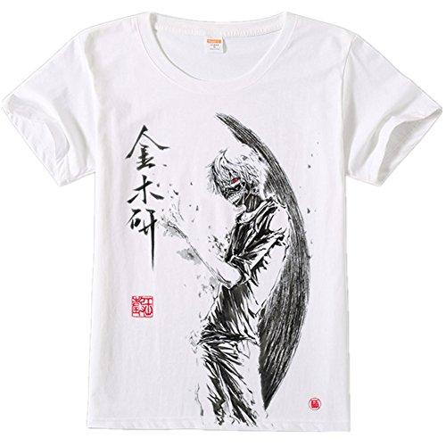 FS-LIFE Tokyo Ghoul Mens White T-Shirt
