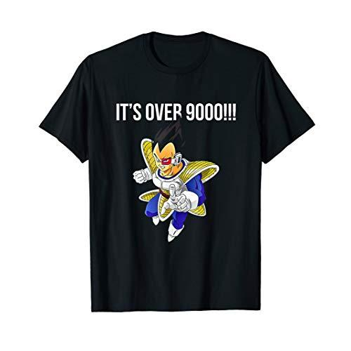 It's Over 9000!!! Dragon Shirt Ball Z Gift