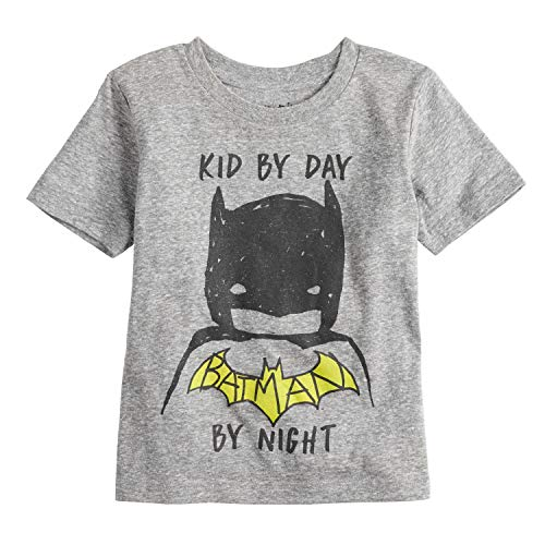 Jumping Beans Toddler Boys 2T-5T Batman Kid by Day Batman by Night Tee