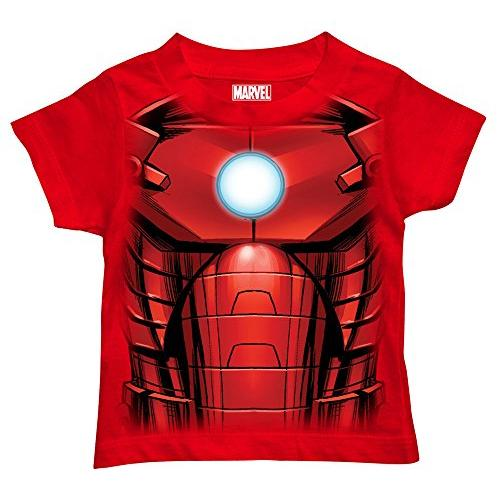 Marvel Boys' Iron Man T-Shirt