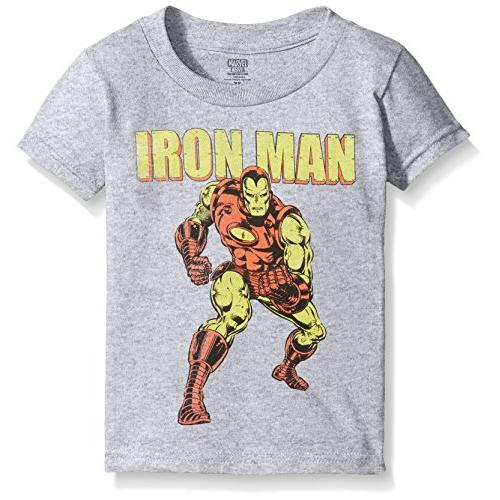 Marvel Boys' Toddler Boys' Iron Man Short Sleeve T-Shirt