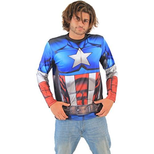 Captain America Civil War Sublimated Costume Men's t-Shirt
