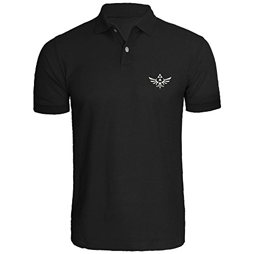 Mens The Legend Of Zelda Triumphant Triforce Polo Shirts Men Shirt