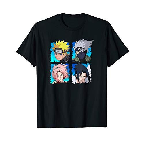 Naruto 4 Heads T-Shirt