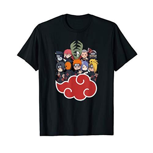 Naruto Akasuki Group SD T-shirt