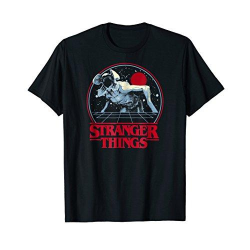 Netflix Stranger Things Demogorgon Circle T-shirt