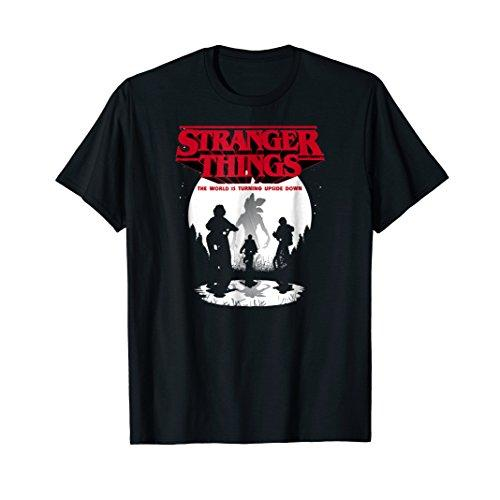Netflix Stranger Things Upside Down T-shirt