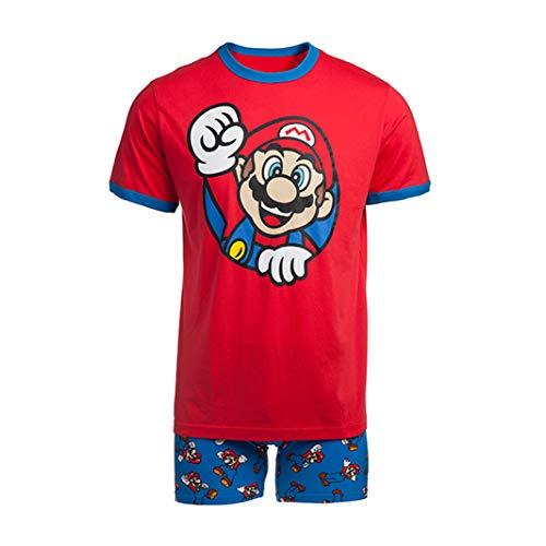 Nintendo Men's Video Game Boxer Brief Underwear and T-Shirt Set