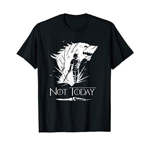 Not Today T-Shirt Sword Gift For Men Women T-Shirt
