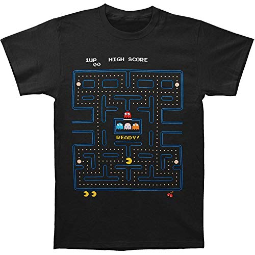 Pac-Man Game Start Adult T-Shirt