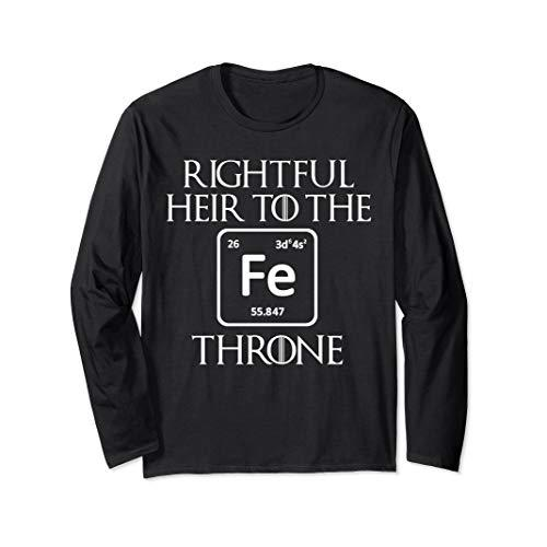 Rightful Heir to the Iron Throne Funny Game Tshirt Gift