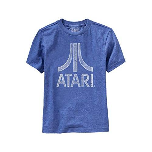 Ripple Junction Atari Youth Distressed Logo Light Weight Crew T-Shirt