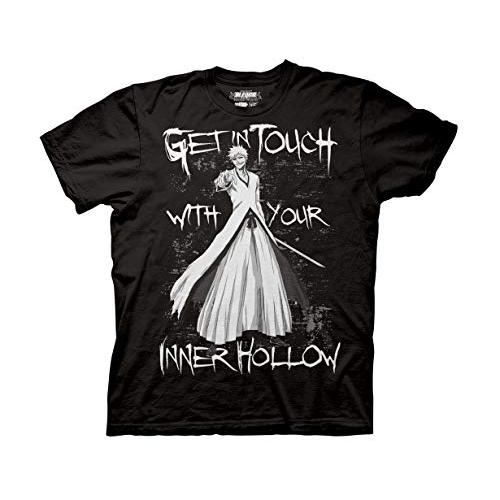 Ripple Junction Bleach Adult Unisex Your Inner Hollow Heavy Weight 100% Cotton Crew T-Shirt