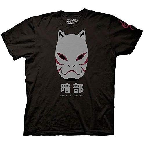 Ripple Junction Naruto Shippuden Anbu Black Ops Mask Adult T-Shirt