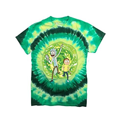 RICK AND MORTY Portal Mens T-Shirt