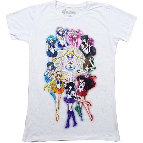 Sailor Moon S Group Sublimation Full Jrs T-Shirt