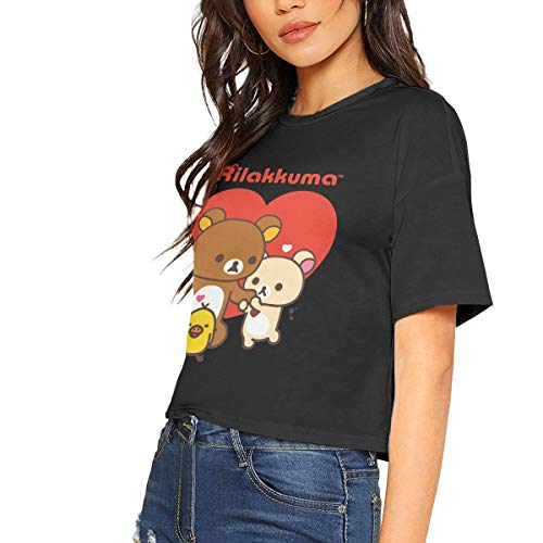 Rilakkuma Womens Music Short Sleeve Tee Shirt