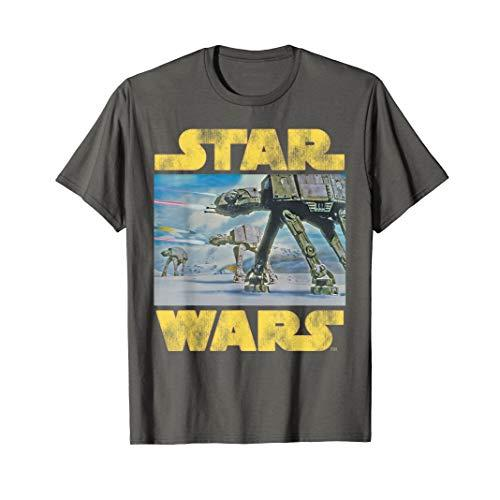 Star Wars Vintage Imperial AT-AT Battle of Hoth T-Shirt