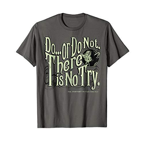 "Star Wars Yoda Epic Quote ""Do Or Do Not..."" Graphic T-Shirt"